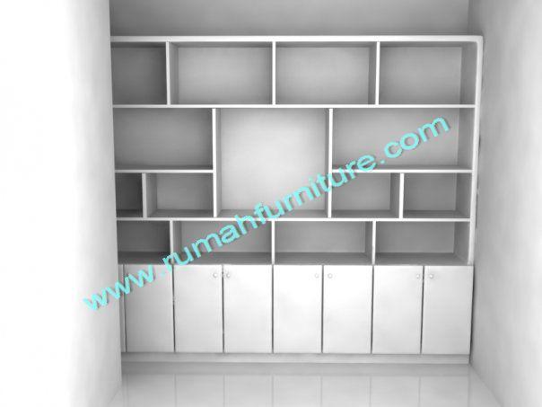 5-lemari-buku-modern