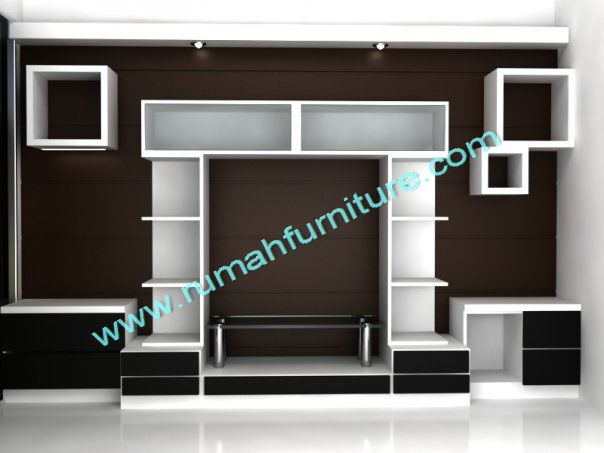 tv panel rak tv rumah furniture. Black Bedroom Furniture Sets. Home Design Ideas